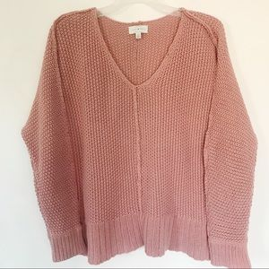 Lucky Brand - dusty rose sweater